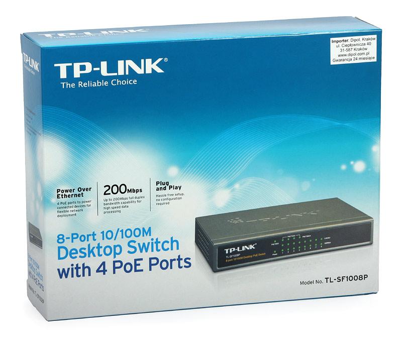 Bộ chia mạng TP-Link TL-SF1008P